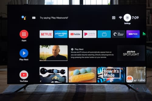 Android TV's new home screen